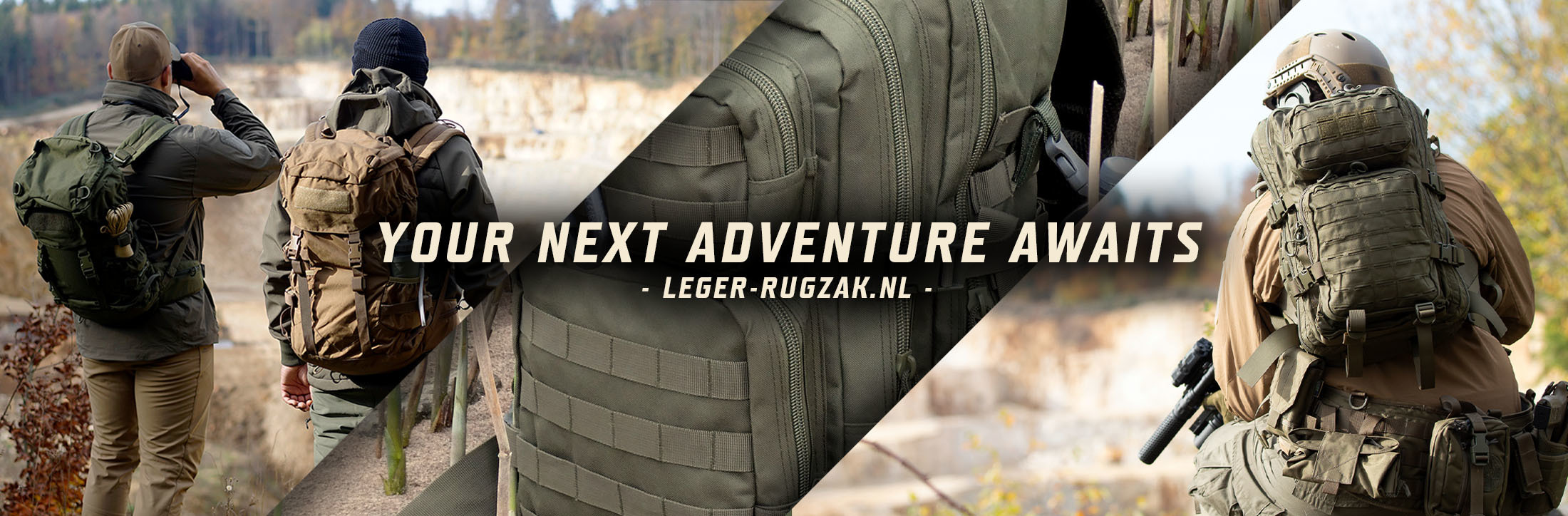 Leger-rugzak.nl - Your next adventure awaits