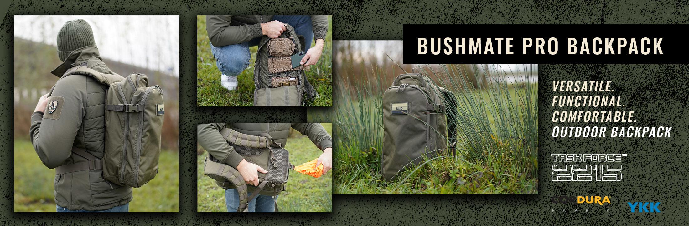 Rugzak Bushmate Pro Groen 35L | Task Force 2215