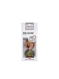 BIBS Set/2 speentjes woodchuck/army green T1
