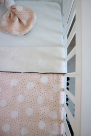 Daily Dream Wiegdeken - Pink dot/Cream teddy