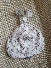 Knoop konijn fedde taupe