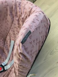 Maxicosihoes - Badstof oud roze berg