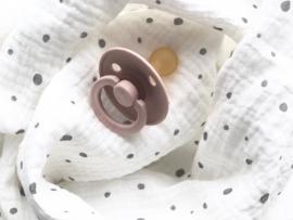 Mousselin Cotton grey dot