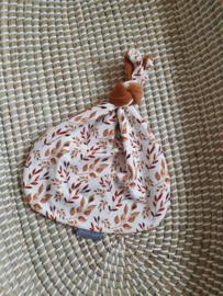 Knoop konijn beau cognac
