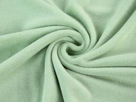 Badstof tricot oud groen