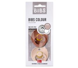 BIBS Set/2 speentjes woodchuck/blush T1