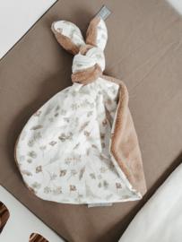 Knoop konijn Loulou teddy taupe
