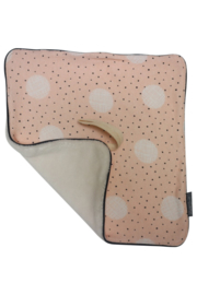 Daily Dream Speendoek - Pink dot/Cream teddy