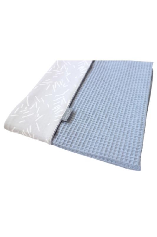 Daily Dream Ledikantdeken - Old blue wafle /Grey confetti