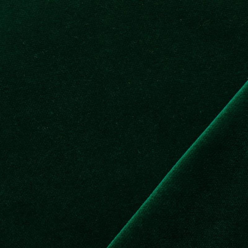 Velours Emerald, donker groen