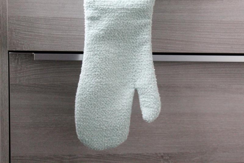Badhandschoen mint