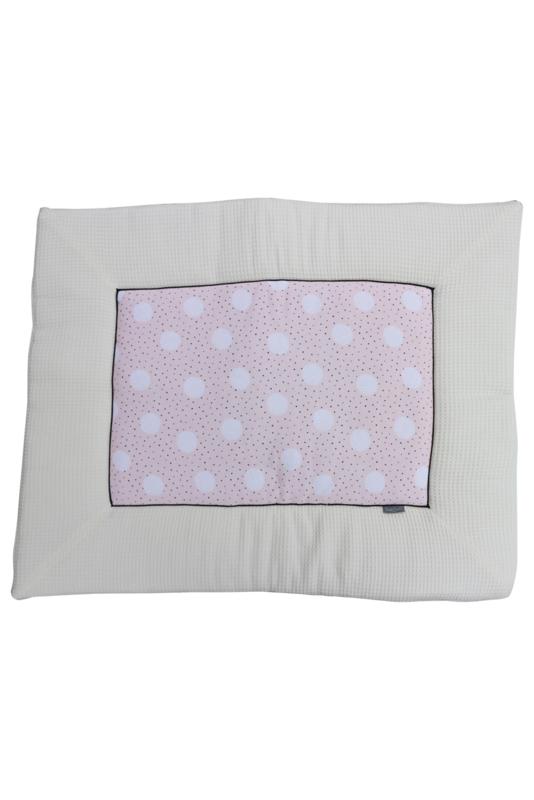 Daily Dream Boxkleed rand - Pink dot/Cream teddy/Wafle