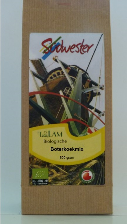 Boterkoekmix 500 gram