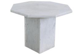 Marmeren salontafel hexagon 'Everse'