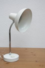 Retro off-white bureaulampje