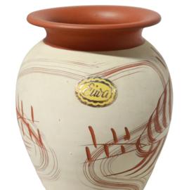 Terracotta Eiwa vaas