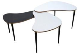 Zeer bijzondere salon tafel  / nesting table set