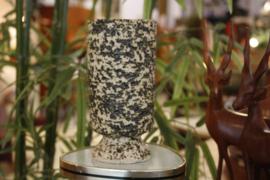 Berkenbast bloempot op poot