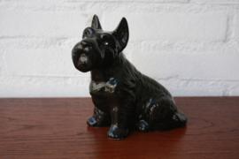 Vintage hondenbeeld