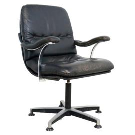 """Lederen bureaustoel """"Gerkesklooster"""""""