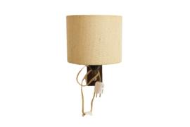 Wandlamp houten wandhouder