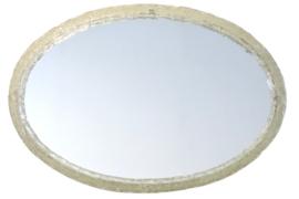 Hillebrand spiegel met ice glassed rand