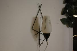 Fifties wandlamp