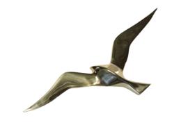 Messing meeuw (35 cm)
