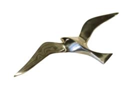 Messing meeuw (30 cm)