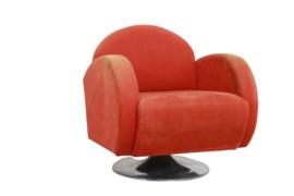 """Vintage fauteuil op trompetvoet """"Biesme"""""""