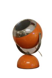 Oranje bollampje