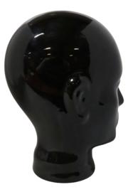 Koptelefoon-hoofd zwart