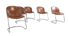 "Set van 5 Thema Italy Gastone Rinaldi stoelen ""Punthorst"""