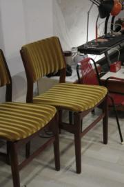 Set van 4 vintage stoelen