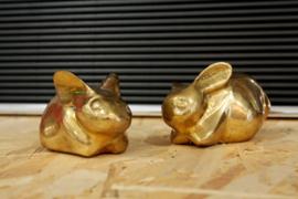 Set messing konijntjes