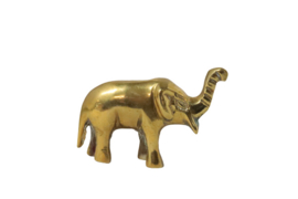 Messing olifant 5 cm