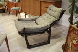 Jaren '70 lounge fauteuil