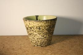 Berkenbast bloempot