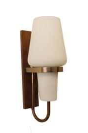 Melkglazen wandlamp