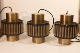 Set van 3 jaren zestig lampen
