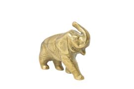 Messing olifant 6 cm