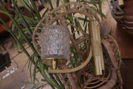 Hollywood regency wandlamp