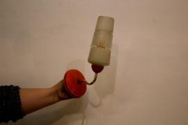 Wandlamp oranje