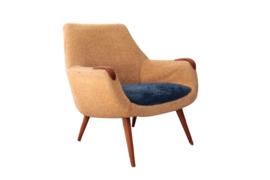 Fauteuil jaren 50 (twee beschikbaar)