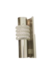 Set van twee chromen wandlampen