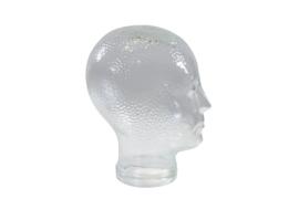 Glazen koptelefoon-kop