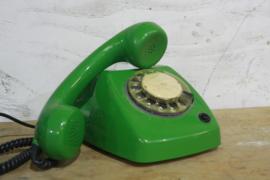 Retro draaischijftelefoon