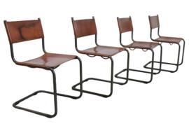 """Set van 4 stoelen """"Kamperland"""""""