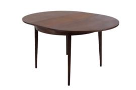 """Ronde uitschuifbare tafel """"Hierden"""""""