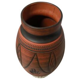 Terracotta vaas '121/20